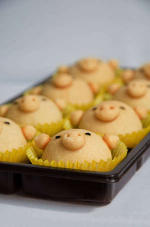 bakery pig in blanket. Stock Photo - 10608802