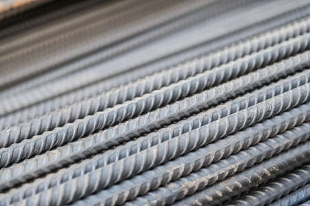 reinforcing bar: steel re-bar