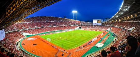 contend: football stadium Editorial