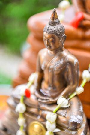 budha: thai budha Stock Photo