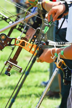 archery preparing