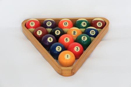 billiard: billiard balls