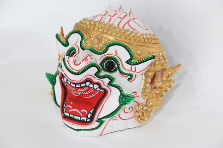 thai dance: Thai dance mask