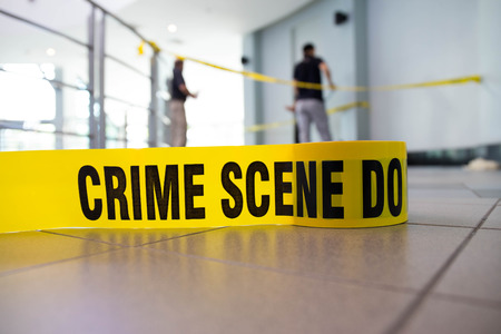 crime scene Imagens - 49859147