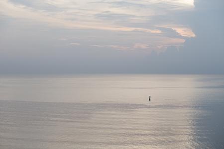 flashing: flashing light float at sea