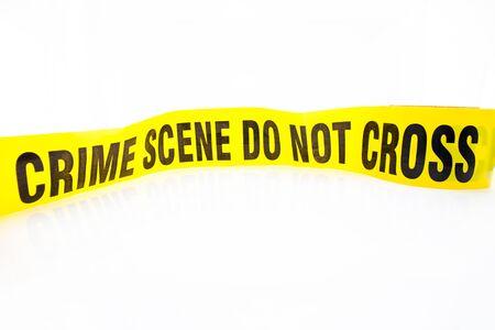 background csi: yellow crime scene do not cross tape