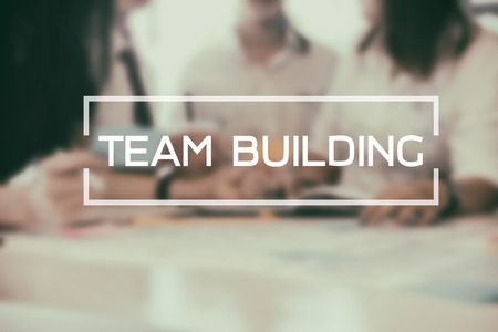 Team building Business Conversation Collaboration Support Concept.