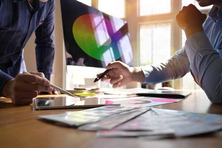 Designer graphic creative creativity work tablet designing design computer artist coloring colour ideas style.