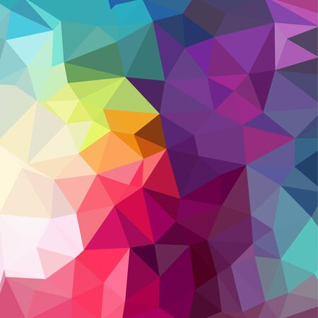 Abstract Geometric backgrounds full Color Stock Illustratie
