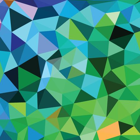 multicolored: Abstract Triangle Geometrical Multicolored Illustration