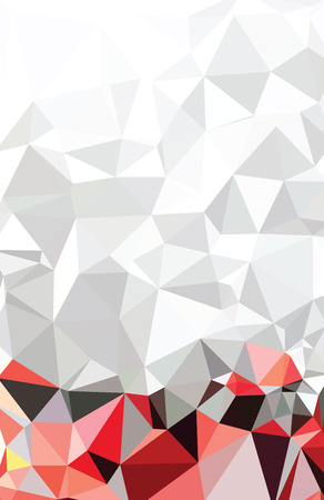 Abstract Triangle Geometrical Multicolored Stock Illustratie