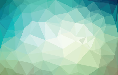 Vector bright green modern geometric background