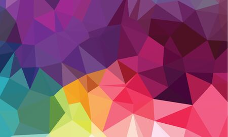 Bright geometrical polygonal vector background