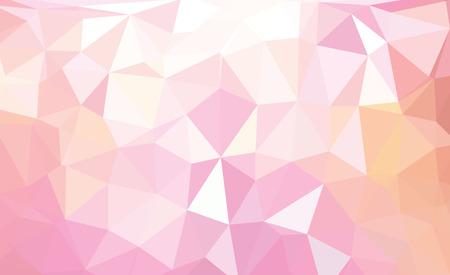 Modelo retro abstracto colorido de formas geométricas. Bandera de mosaico colorido Vectores