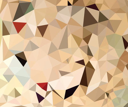 Abstract colorful geometric  background. Stock Illustratie