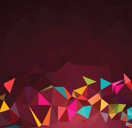Colorful abstract mosaic backgrounds
