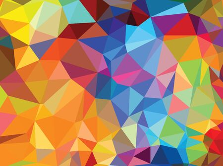 Vector abstract background. Design pattern for packaging. Colorful  イラスト・ベクター素材
