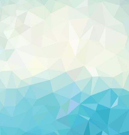 Fundo geométrico colorido Ilustração