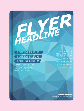 Presentation of flyer design content