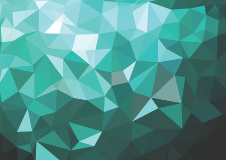 square background: background consisting of triangles. Illustration