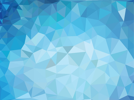 blue vintage background: Retro pattern of geometric shapes. Colorful mosaic banner. . Clip-art