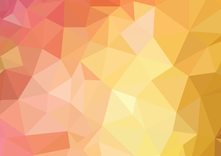 Geometric low poly graphic repeat pattern made out of triangular colors