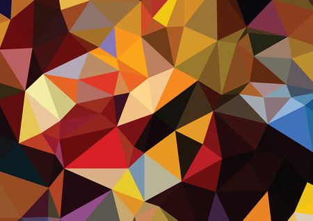 consisting: consisting background of triangles warm texture