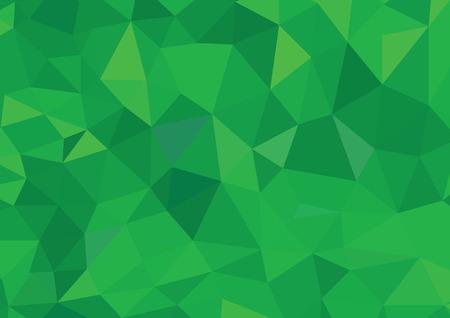 Green Polygonal Mosaic Background, Creative Design