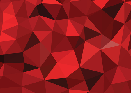 Abstract colorful vector background  red