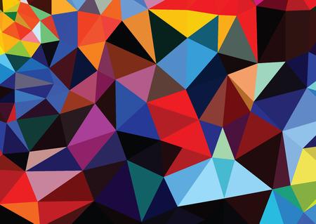 eps 10: Polygonal Geometric tech abstract background. EPS 10