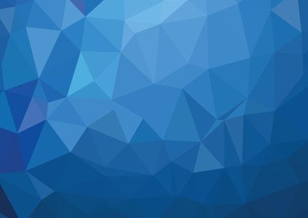 Blue Light poligonale mosaico, illustrazione vettoriale, commerciali per Design Archivio Fotografico - 45314785