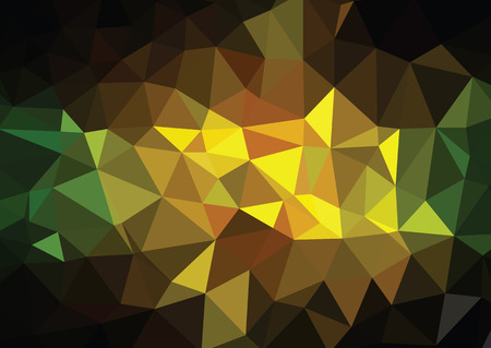 consisting: consisting Geometric flowers. Abstract polygonal background. Illustration