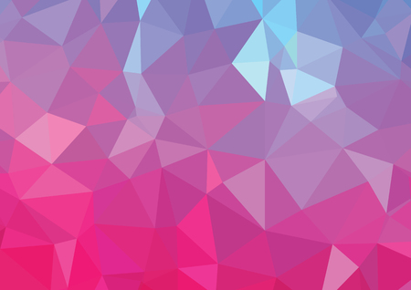 The abstract geometric 3D background. Vector illustration