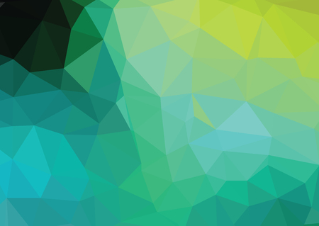 creative design: Green Polygonal Mosaic Background, Creative Design