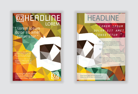 magazine design: design for cover brochure flyer magazine poster in A4