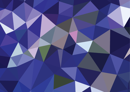 Abstract 3D geometric colorful background Illustration