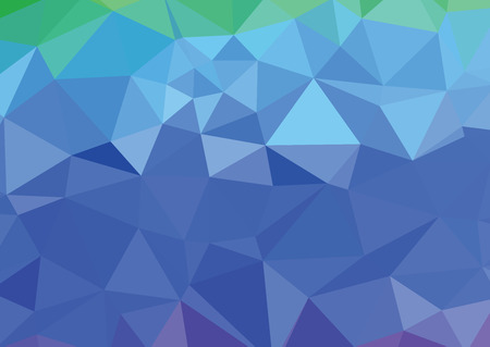 blue light polygonal mosaic background, Vector illustration, Business design templates Stok Fotoğraf - 45314989
