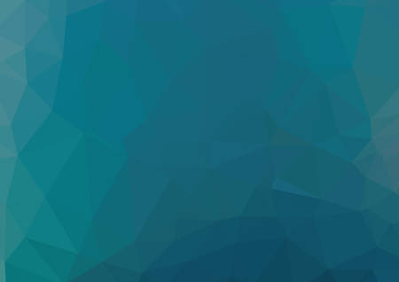rumpled: Blue abstract geometric rumpled triangular low poly style vector illustration Illustration
