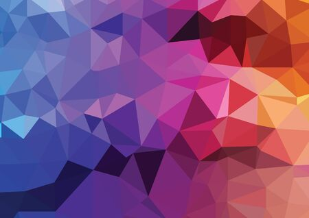 Abstract colorful   Polygonal  Background, Vector