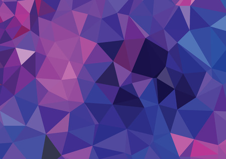 Abstract 3D geometric colorful blue background