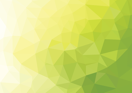 Green Polygonal Mosaic Background, Creative Design