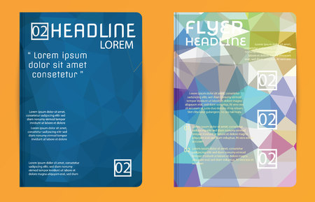 book background: Abstract modern cover  brochure, flyer design template. Colorful Template vector