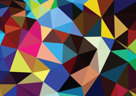 mosaic background: Polygonal Mosaic Background, Vector illustration
