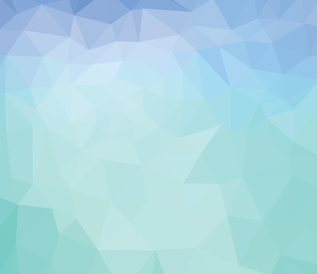 geometric shapes: abstract background consisting of green, blue, Illustration