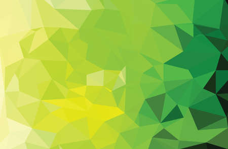 warm: Abstract mosaic green geometric pattern  triangles warm texture Illustration