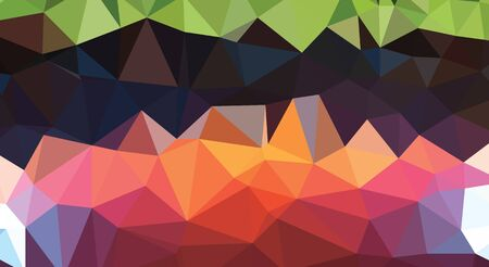 consisting: abstract background consisting of triangles shapes
