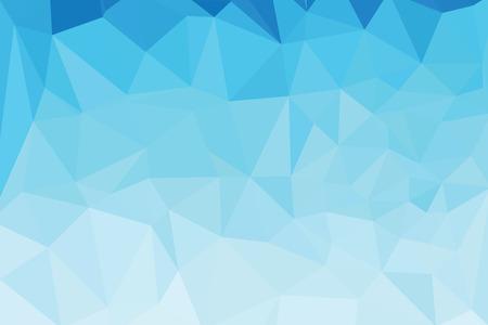 Blue Light Polygonal Templates Vettoriali