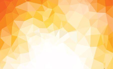 여러 가지 빛깔의 화려한 삼각형 기하학적 일러스트 레이션 현대 디자인 모자이크