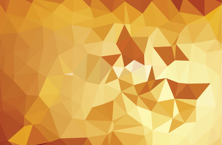 rumpled: Multicolor abstract rumpled triangular background, low poly Illustration