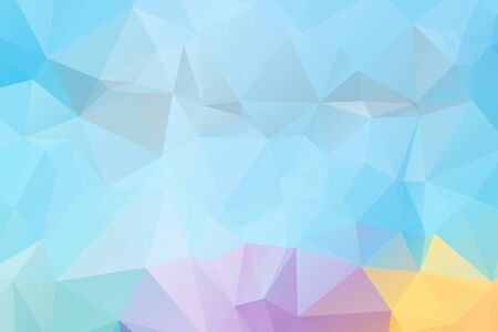triangular: polygonal triangular modern design background